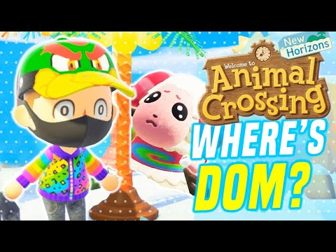 Animal Crossing NEW Switch Event! Hunt For Rare Villagers In New Horizons! (Race for Dom)
