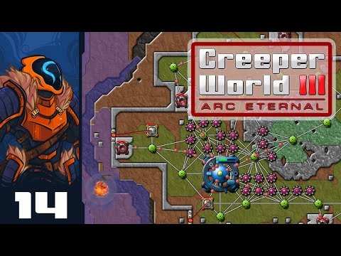 Unsafe Landing Conditions - Let's Play Creeper World 3: Arc Eternal - Part 14