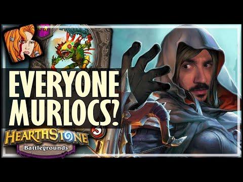 EVERYONE MURLOCS? TESS = GODMODE - Hearthstone Battlegrounds