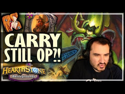 CARRYMASTER IS STRONGER THAN EVER?! - Hearthstone Battlegrounds