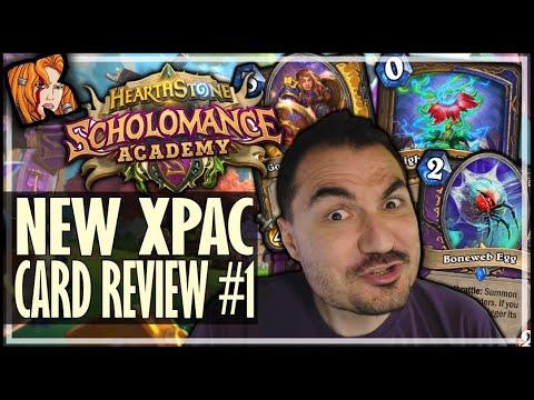 KRIPP SCHOLOMANCE CARD REVIEW #1 - Scholomance Academy Hearthstone