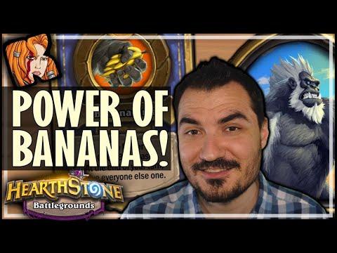 TRUST THE BANANAS?! - Hearthstone Battlegrounds