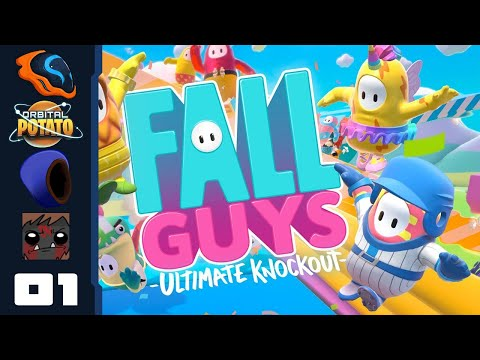 Takeshi's Castle: The Game - Let's Play Fall Guys: Ultimate Knockout [Multiplayer] - Part 1