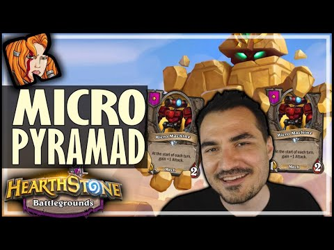 MICROMAD STILL HOLDS UP?! - Hearthstone Battlegrounds