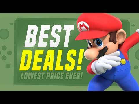 LOWEST Price Ever Nintendo Switch Games Sale! (Nintendo eShop Deals and Sales!)
