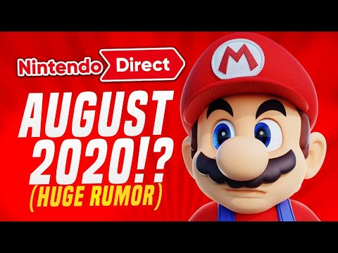 HUGE LEAK Says Nintendo Direct Coming in AUGUST...More MINI Direct!? (King Zell SWITCH RUMOR)
