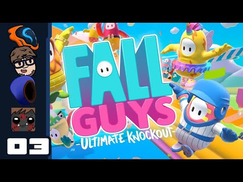 Apply Fruit To Face, Vigorously - Let's Play Fall Guys: Ultimate Knockout [Multiplayer] - Part 3