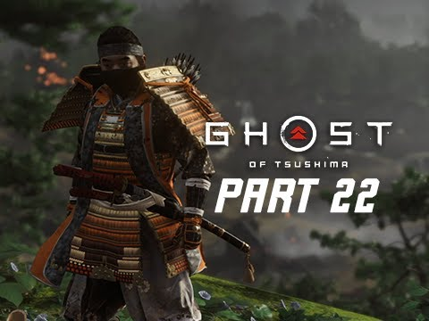 GHOST OF TSUSHIMA Walkthrough Gameplay Part 22 - GOSAKU ARMOUR (PS4 PRO 4K)