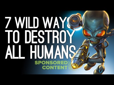 7 Wild Ways to Destroy All Humans in Destroy All Humans! (Sponsored Content)