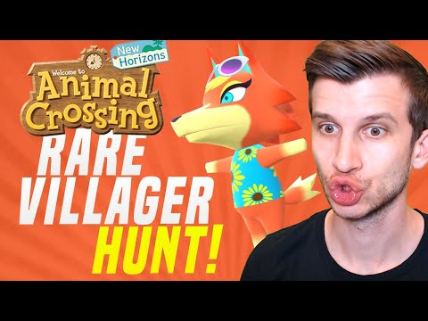 🔴NEW VILLAGER HUNT WAVE 2 UPDATE! Animal Crossing New Horizons | SwitchForce