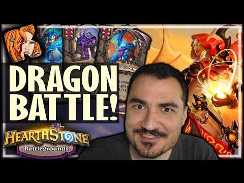 THE DRAGON RACE! - Hearthstone Battlegrounds