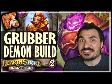 THE GRUBBER DEMON BUILD! - Hearthstone Battlegrounds