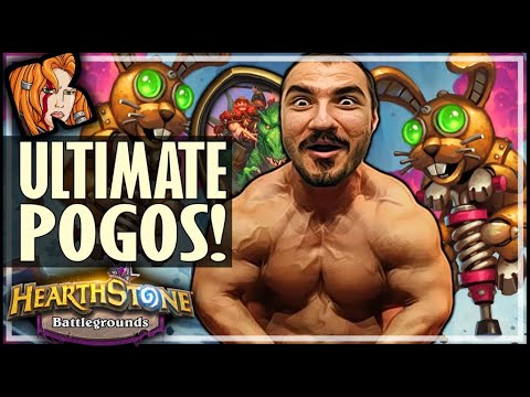 THE ULTIMATE POGO BUILD! - Hearthstone Battlegrounds