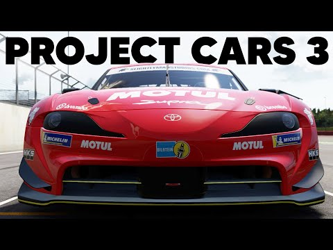 Project CARS Exclusive Gameplay - Toyota GR Supra Racing (Silverstone GP)