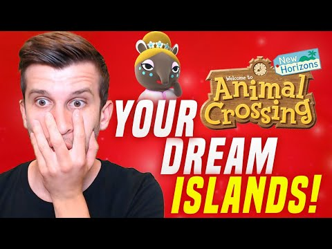 VISITING YOUR Dream Address in Animal Crossing New Horizons Dream Island Tours! (ACNH Update)