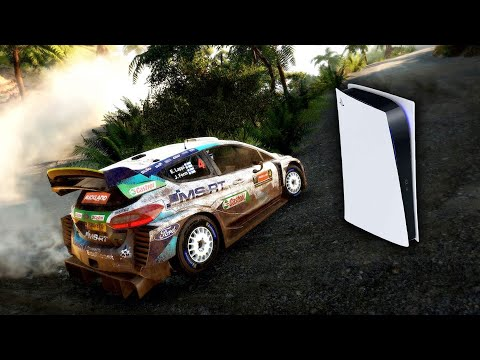 WRC 9 Exclusive Gameplay - Information & EXCITING PS5 FEATURES (60-100fps Native 4K)