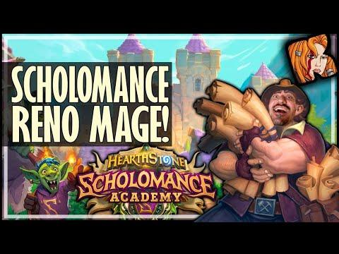 SCHOLOMANCE RENO MAGE! - Scholomance Academy Hearthstone