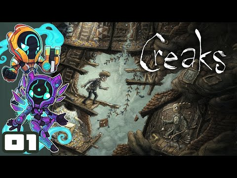 When Wizards Take Animate Object Way Too Far - Let's Play Creaks - PC Gameplay Part 1