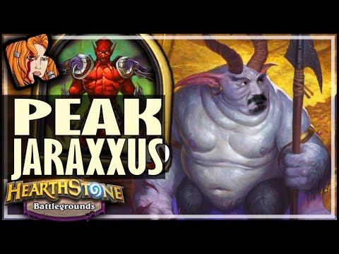 THIS IS PEAK JARAXXUS PERFORMANCE! - Hearthstone Battlegrounds