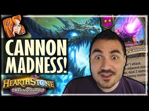 CANNON MADNESS?! - Hearthstone Battlegrounds
