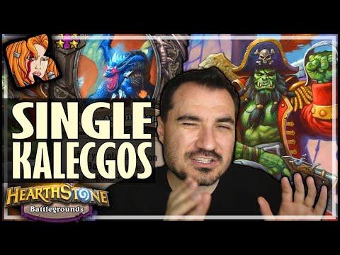 SINGLE KALECGOS = STILL GOOD?! - Hearthstone Battlegrounds