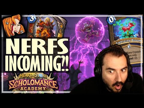 10 MOST LIKELY CARDS TO BE NERFED - Scholomance Academy Hearthstone