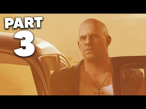 FAST AND FURIOUS CROSSROADS Gameplay Walkthrough Part 3 - SAND STORM