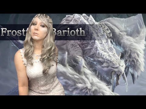 The Frostfang Barioth First Time Experience Monster Hunter World Iceborne Hunt REACTION