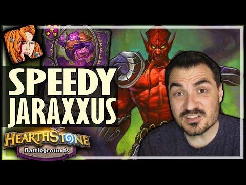 SUPER FAST GAME = JARAXXUS IS OP?! - Hearthstone Battlegrounds