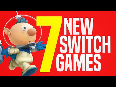 7 NEW Switch Games JUST Announced Coming to Nintendo eShop! (Switch Update Releases)