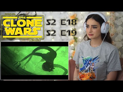 THE ZILLO BEAST! / Star Wars: The Clone Wars Reaction & Commentary / S2 E18 & 19