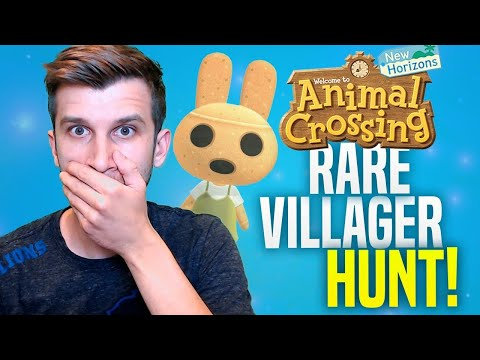 🔴FINAL VILLAGER HUNT - ACNH UPDATE! Animal Crossing New Horizons | SwitchForce