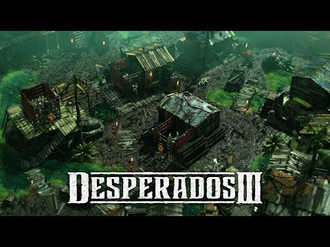 Desperados 3 - Mission 11: Burn The Queen (Desperado, No Save)