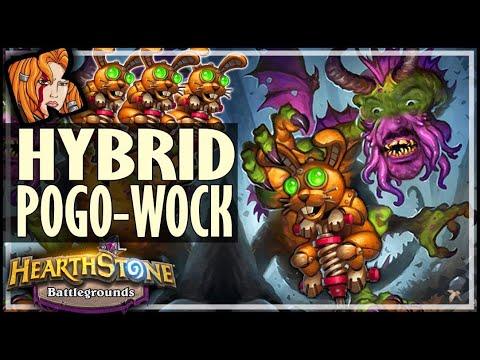 HYBRID POGO-WOCK META?! - Hearthstone Battlegrounds