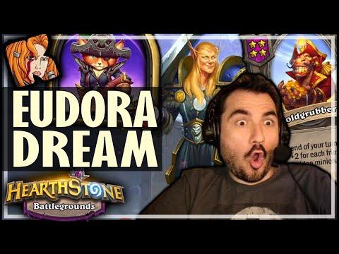 THE DREAM EUDORA RUN! - Hearthstone Battlegrounds