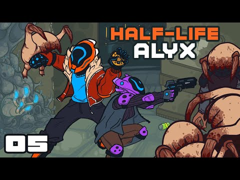 CRAB BATTLE! - Let's Play Half-Life Alyx - Oculus Rift S Gameplay Part 5