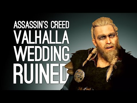 Assassin's Creed Valhalla Gameplay: DRINKING CONTEST! RUINED WEDDING! Let's Play AC Valhalla