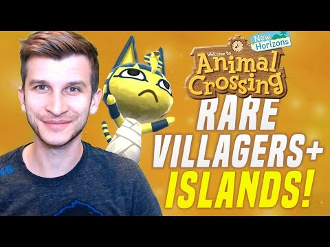 🔴PLZ SAVE MY ISLAND?! VILLAGER HUNT! Animal Crossing New Horizons | SwitchForce