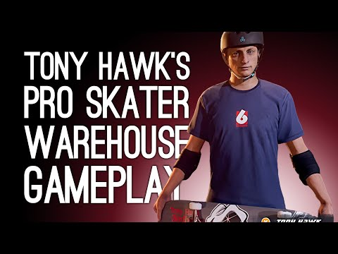 Tony Hawk's Pro Skater 1 + 2 Warehouse Gameplay Demo: MILLION POINT RUN - Let's Play New THPS