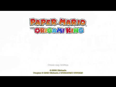 TetraNinja is Live Streaming Paper Mario: The Origami King