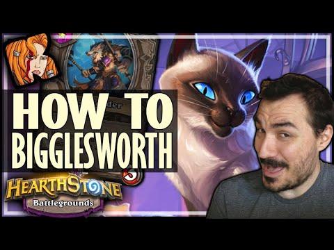 BIGGLESWORTH IS ACTUALLY LEGIT?! - Hearthstone Battlegrounds