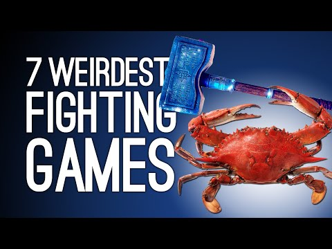 7 Weird Fighting Games We Swear We're Not Making Up (Part 2)
