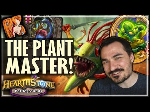 A MASTERY OF TOKENS & PLANTS! - Hearthstone Battlegrounds