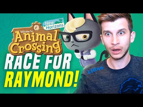 🔴Animal Crossing NEW Switch Dream Maze! Hunt For Rare Villagers In New Horizons! (Race for Raymond)