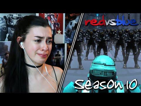 I HATE GOODBYES... | Red vs. Blue Reaction | Season 10 | EP 13-22