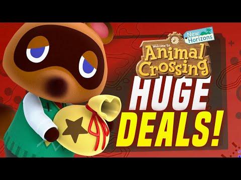 HUGE Nintendo Switch Games Sale LOWEST EVER.. Animal Crossing Sale! (Nintendo eShop Deals & Sales!)