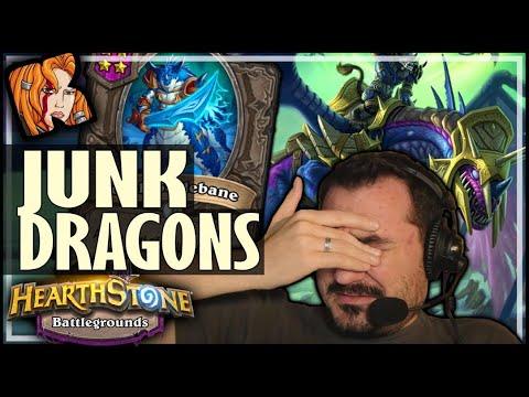 JUNK DRAGONS? NO PROBLEM! - Hearthstone Battlegrounds