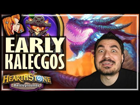 THE ONLY TIME I DON'T GO MURLOCS! - Hearthstone Battlegrounds