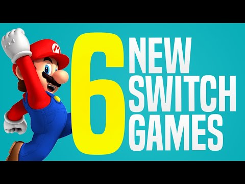 6 NEW Switch Games JUST Announced Coming to Nintendo eShop! (Switch Update Releases)