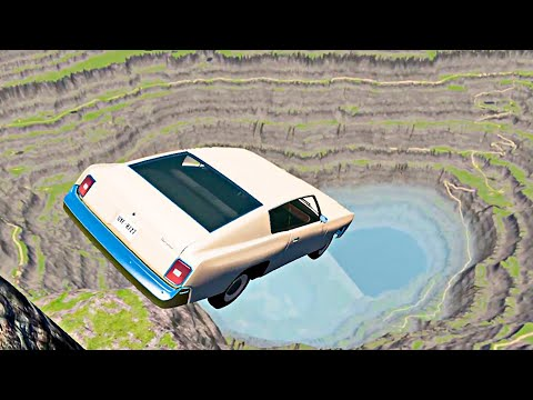 HIGH PEAK Jumps & Car Crashes #7 - BeamNG Drive [4K 60FPS]